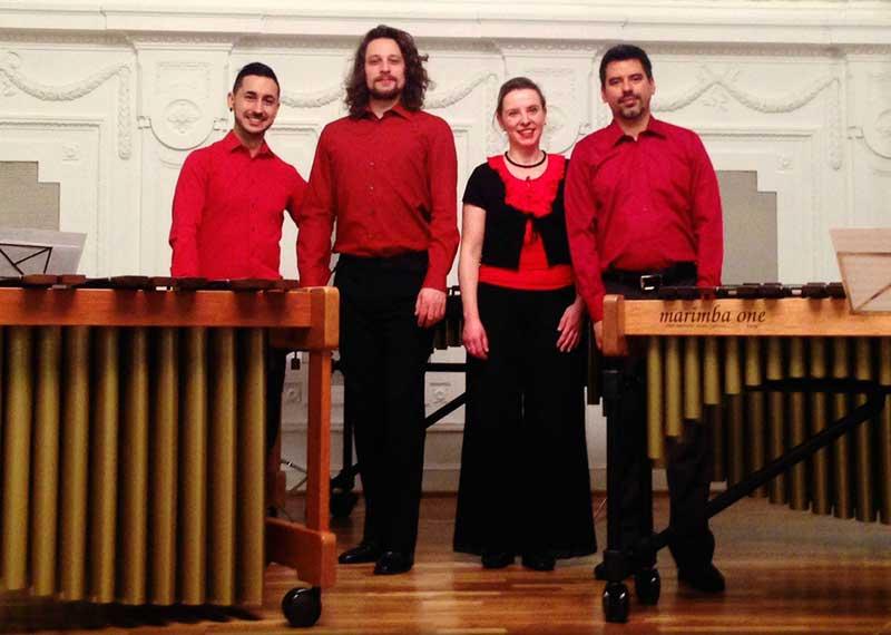 Katarzyna Mycka marimba quartet